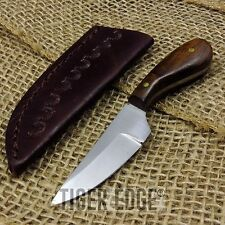 FIXED-BLADE HUNTING KNIFE | Mini Native American Small Full Tang Skinning Patch