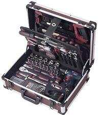KRAFTWERK 3949 AluPro Werkzeugkoffer mit Bosch Akku-schrauber 264 Tlg bestückt