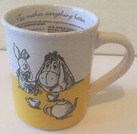 Disney Store Winnie The Pooh Tea Makes Everything Better Mug Cup 12 oz NEW