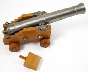 "Vintage 7.5"" CVA ""Black Powder Only"" Signal Cannon Rifled Barrel ""Spain"" .45 Cal"