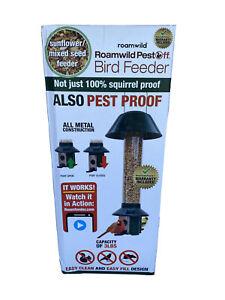 Roamwild Squirrel Proof Wild Bird Feeder Mixed Seed Sunflower Heart Version -...