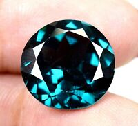 AAA Brazilian 10.35 Ct Natural London Blue Topaz Loose Gemstone Certified F4925