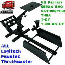 Racing Simulator,Adjustable Wheel Stand for G25/G27/G29/G920 Fits Multi-platform