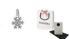 Pandora Sterling Silver Snowflake Pendant 390354CZ