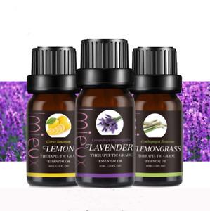 Essential Oils 30 mL (1 oz) / 10ml - 100% Pure & Natural - Therapeutic Grade Oil