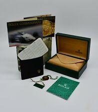 Genuine Rolex vintage Cosmograph Daytona 16520 box set 1991
