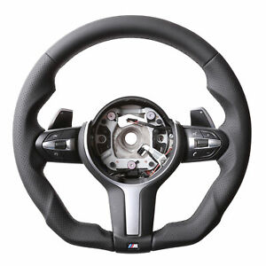 BMW M STEERING WHEEL, FLAT BOTTOM, F20, F30, F80, F82, F87, M235i, M2, M3, M4