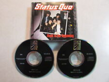 STATUS QUO BACK TO THE BEGINNING 2CD 30 TRK 1991 UK COMP ORIGINAL ISSUE RARE OOP