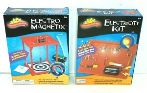 Electricity Kit & Electro Magnet by Scientific Explorer Both Brand New Sealed