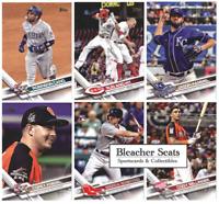 2017 Topps Update Series Baseball - Base Set Cards - Choose Card #'s US 151-300