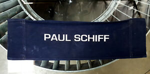 Ghost In The Machine ('93) Canvas Seat Back Made for Paul Schiff - Producer