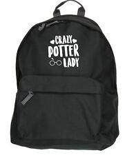 Crazy potter lady kit bag backpack ruck sack school