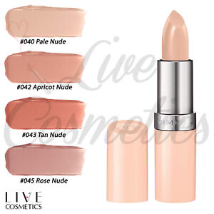 Rimmel Lasting Finish Lipstick, Smooth + Creamy, Nude Collection by Kate Moss
