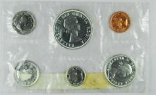 1962 Canada 6 Coin Proof-Like Set, PL Silver Mint Pliofilm,   #A88