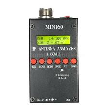 Mini60 SARK100 AD9851 HF ANT SWR Antenna Analyzer Meter Bluetooth Android U4A5