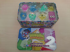 MOSHI MONSTERS 8 LIMITED EDITION ROX COLLECTION 2 + TIN