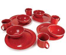 Gsi Red dinnerware set Of 3