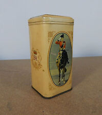 Vintage Queen Elizabeth II Coronation tin 16cm tall lft