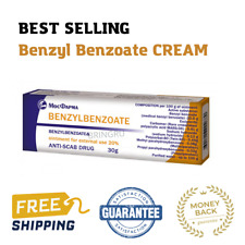 Benzyl Benzoate cream 20% Antiparasitic, Scabies Lice Treatment, FRESH, FAST ...