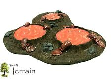 Wargames Scenery Terrain resin Bio Toxic Pools - Warhammer 40k Gates Of Antares