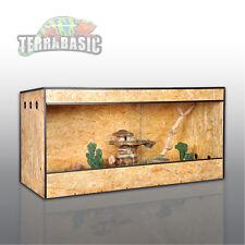 Holz Terrarium 120 x 60 x 60 cm, Seitenbelüftung, OSB,  RepCage PRO