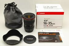 Canon EF 16-35mm F/2.8 L , USM Zoom Lens From Japan,Near Mint, With Acs, TK0308