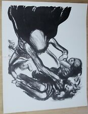 KÄTHE KOLLWITZ - DEATH PICKS GROUP OF CHILDREN ten lithographs RARE PRINT kaethe