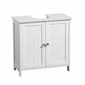 Under Sink Bathroom Cabinet A-1066 White