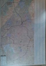 San Antonio TX Laminated Wall Map (K)