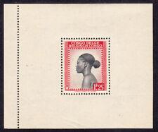 Belgisch Kongo Block 9 congo belge sheet 9 MNH