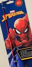 """Shakespeare Ultimate MARVEL Spiderman 2'6"""" Fishing Rod Reel Combo Kit for Kids"""
