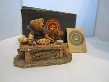 Boyds Bearstone ~ Justina & M. Harrison.Sweetie Pie ~ Baker ~ 6E ~ Retired