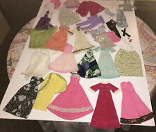 Large Lot 1970's Barbie Clothes Clothing Shoes G1025