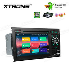 Android 9.0 Car Head Unit DVD Player Stereo Radio GPS For Audi A4 S4 B6 B7 RS4