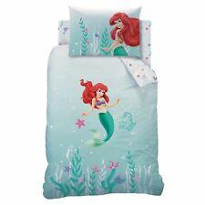 Disney Princess Ariel sous la Mer Housse Couette Simple Set Enfants Filles Lit