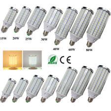 High Power E40 E27 LED Lights Bulb 15W 20W 25W 30W 40W 60W 80W Cool Warm White