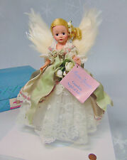 Mib Madame Alexander Doll Willow Green Guardian Angle Of Love Feather Wings Lace