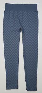 Womens First Kick Maternity Leggings One Size Gray Blueish  Beautiful *W-Pattern