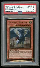 2010 YU-GI-Oh! Gold Series 3 GLD3-EN016 Judgement Dragon-PSA 8 NM-MINT-Gold Rare