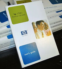 1x User's Guide Edition 2 for HP17BII+ (HP 17BII+) Financial Calculator HP OEM
