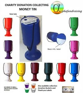 CHARITY DONATION COLLECTING MONEY TIN/POT/BOX LABELS INCL.P&P FROM 99p