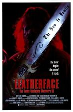 TEXAS CHAINSAW MASSACRE III: LEATHERFACE - 1989 orig 27x40 Movie Poster - INTL