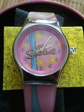 """The Simpsons""  Watch, Pink Simpsons Themed Strap, Japan Movement"