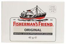 Fisherman's Friend Original Menthol Eucalyptus Lozenges - 45g