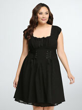Torrid Peasant Sweetheart Dress, Size 18, Brand New