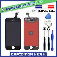 VITRE TACTILE + ECRAN LCD RETINA ORIGINAL POUR IPHONE SE NOIR + OUTILS