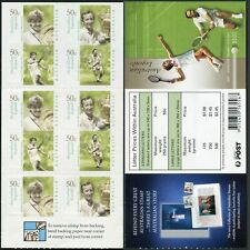 Australia 2129-2132a booklet,MNH. Australian Legends,2003.Tennis players.