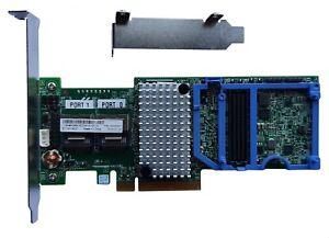 IBM ServeRAID M5110 SAS SATA RAID / HBA IT Mode unRAID FreeNAS ZFS (M1015)