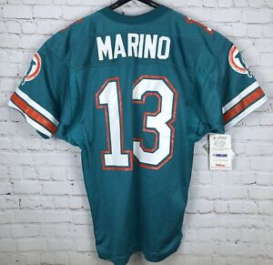 MIAMI DOLPHINS DAN MARINO #13 Aqua Mesh NFL Wilson Size 50 XXL JERSEY NWT