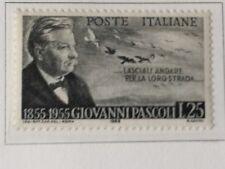 REPUBBLICA 1955 GIOVANNI PASCOLI  MNH**